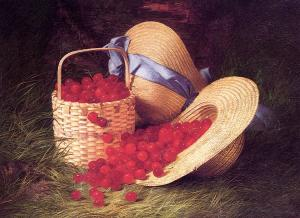 Robert Spear Dunning, Harvest of Cherries (1866).