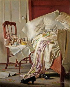 Elizabeth Paxton, The Breakfast Tray (around 1910).