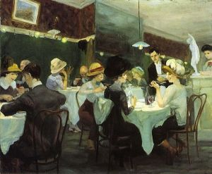 John Sloan, Renganeschi's Saturday Night (1912).