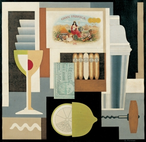 Gerald Murphy, Cocktail (1927).