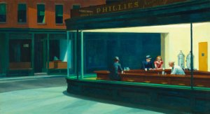 Edward Hopper, Nighthawks (1942).